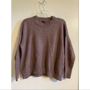 Vince Camuto brown drop sleeve sweater XS